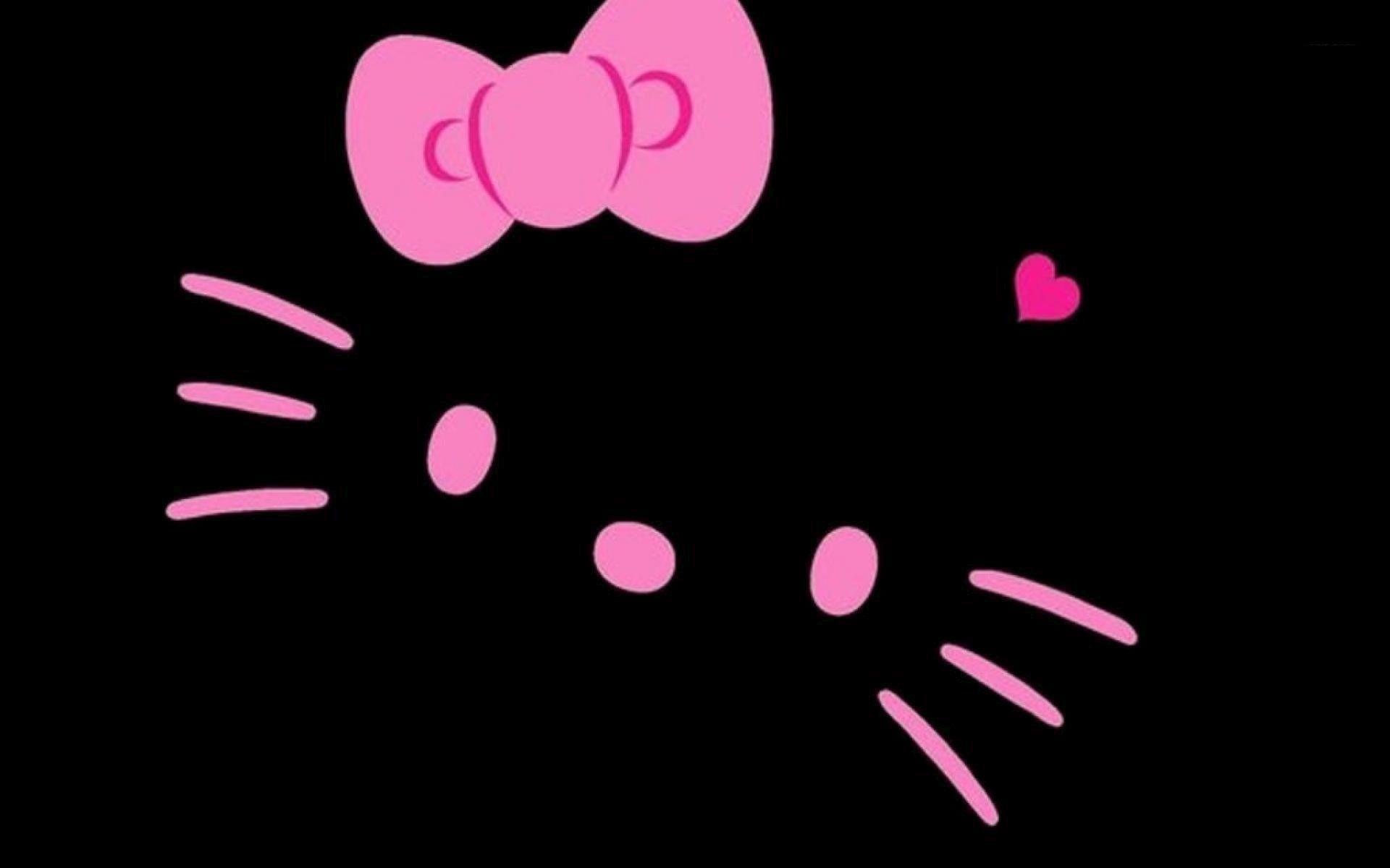 1920x1200 Hello Kitty Pictures Black And White