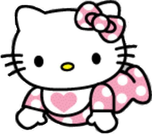 500x442 Collection Of Baby Hello Kitty Clipart High Quality, Free