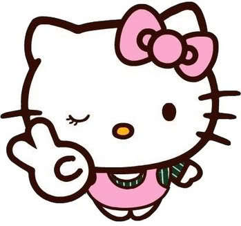 349x327 Hello Kitty Clipart 4 Wikiclipart Jpeg