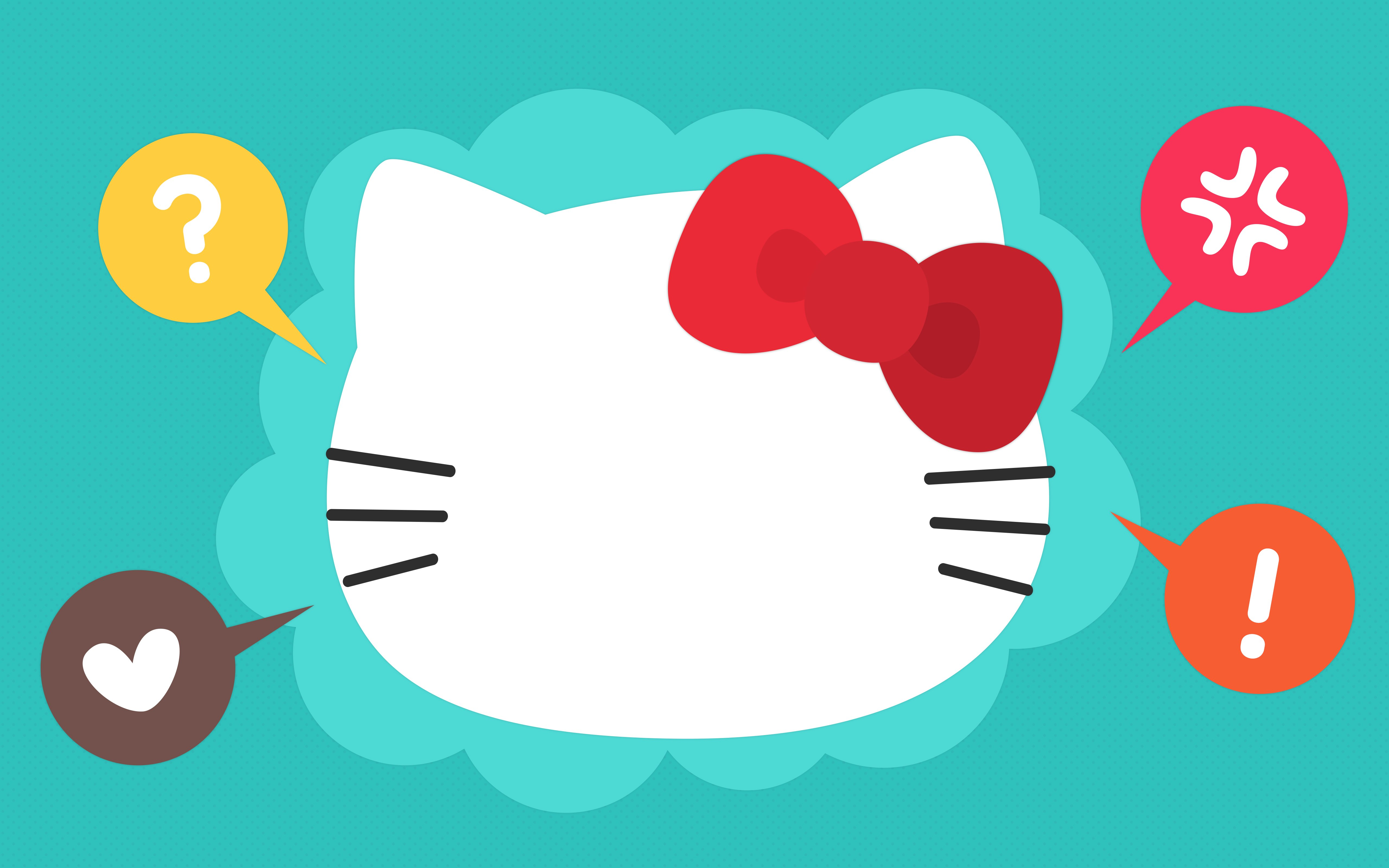 5120x3200 The Secret Behind Hello Kitty's Blank Face