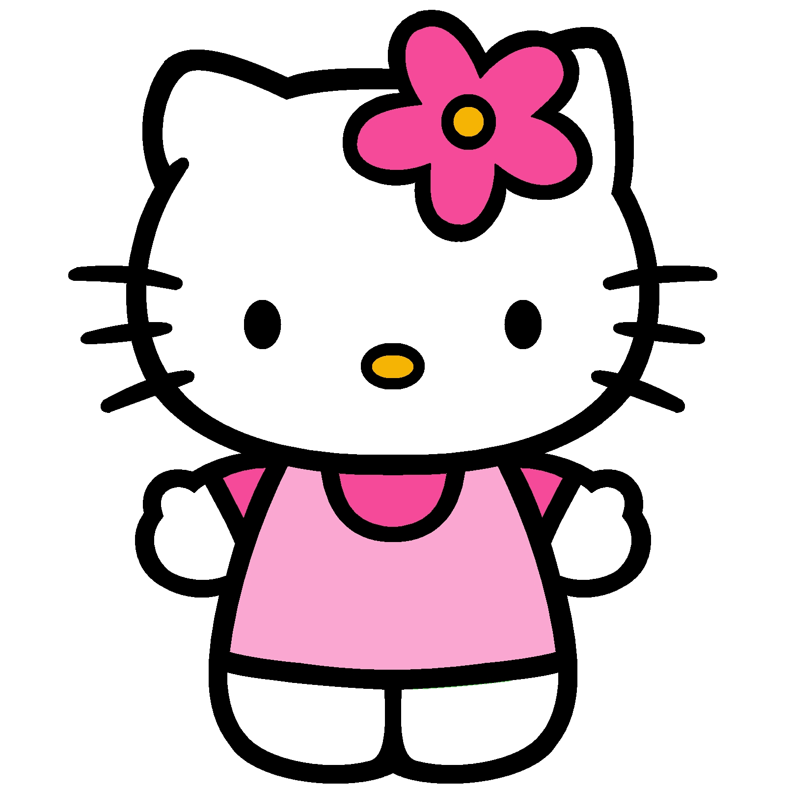 1607x1607 Awesome Hello Kitty Clipart Collection