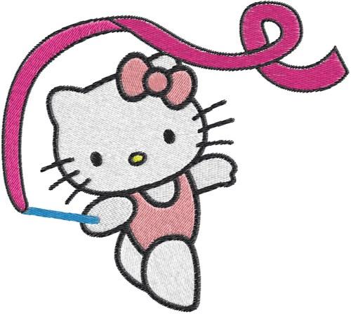 500x448 Gymnastics Clipart Hello Kitty 3589990