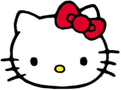 480x360 Hello! Clipart Hello Kitty Head