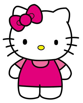 286x354 Hello Kitty Digital Clip Art