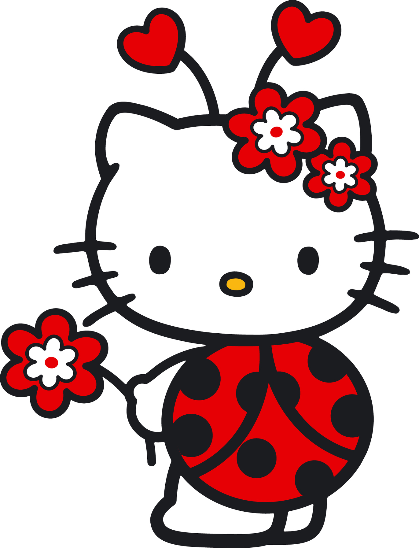 1371x1792 Hello Kitty Baby Clipart 2