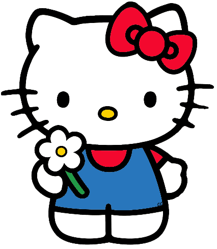 426x488 Collection Of Hello Kitty Clipart High Quality, Free
