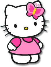177x232 Collection Of Hello Kitty Clipart Borders High Quality, Free