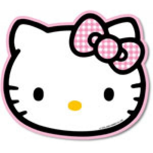 500x500 Hello Kitty Face Plate