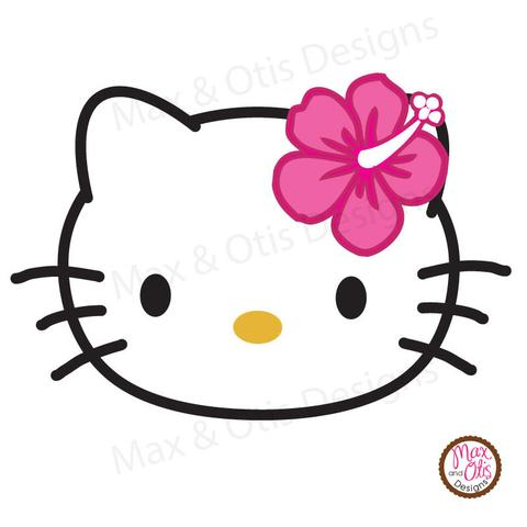 480x480 Hello Kitty Face Printable Sign Banner Max Amp Otis Designs