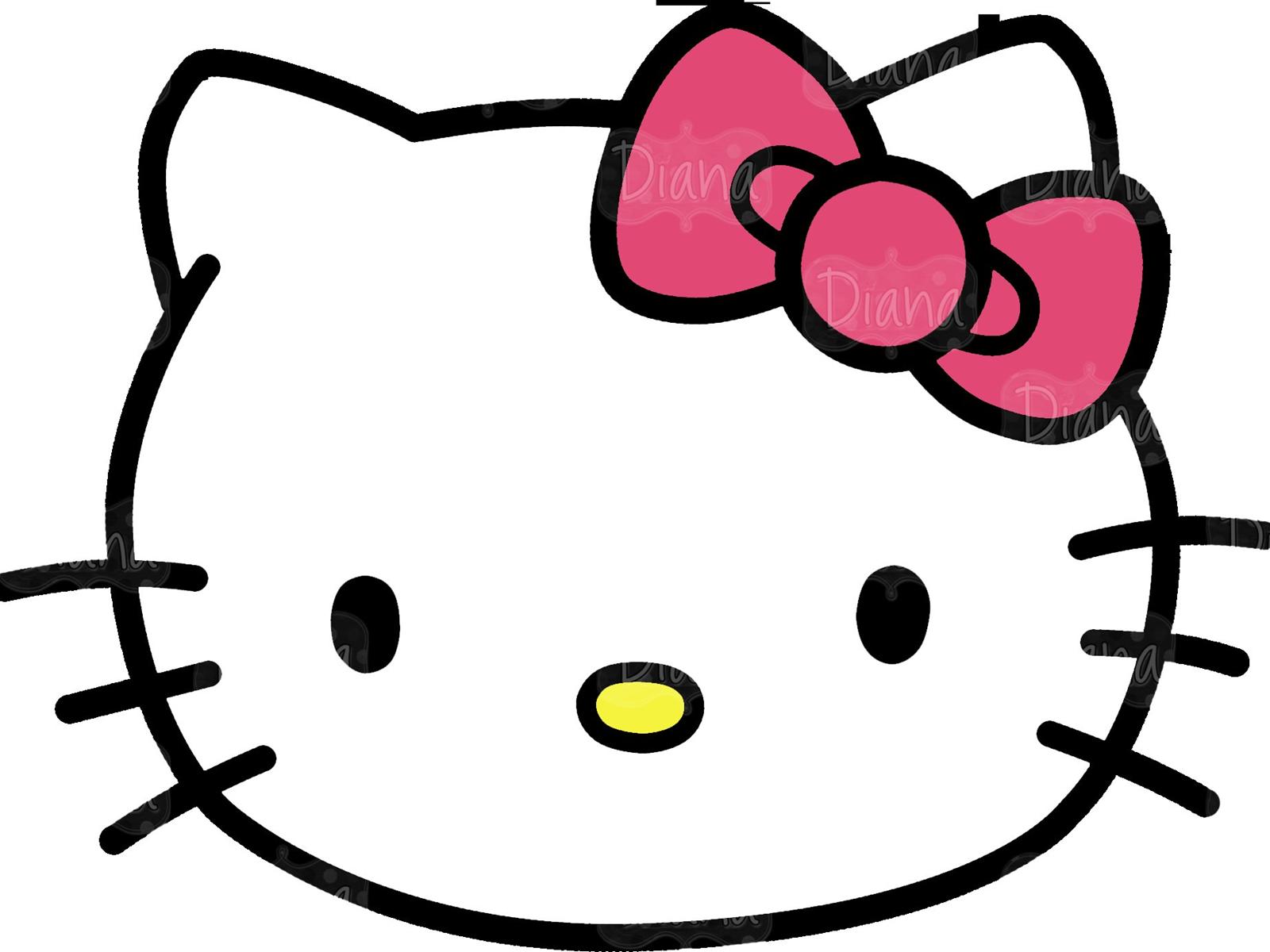 1600x1200 Hello Kitty Logo Kitten Clip Art