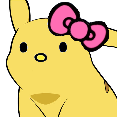 479x479 Hello Kitty Pikachu Face Give Pikachu A Face Know Your Meme