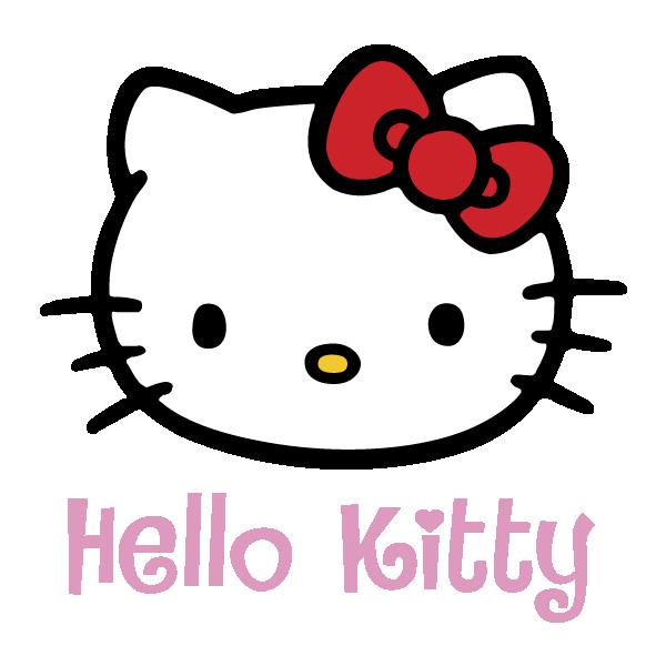 600x600 Hello Kitty Vector Logo Free Download Vector Logos Art Graphics