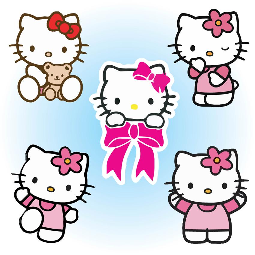 850x850 Hello Kitty Love Clipart