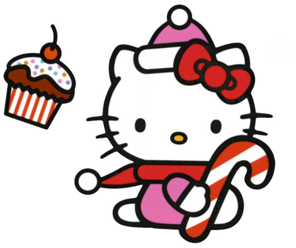 584x490 I Love Hello Kitty Clipart