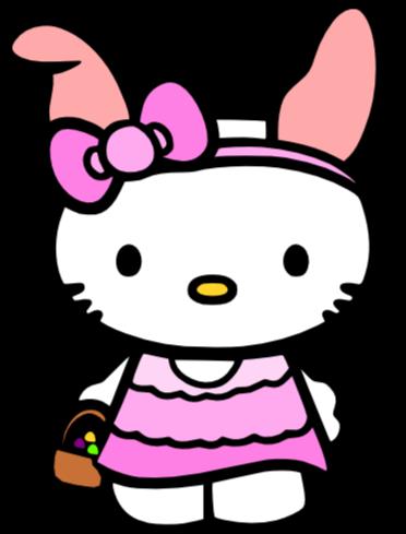 372x489 Shamrock Hello Kitty Clipart