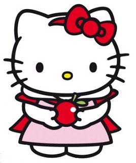 268x320 Sweet Hello Kitty Clip Art. Oh My Fiesta! In English