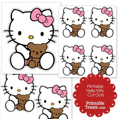500x500 Teddy Bear Clipart Hello Kitty