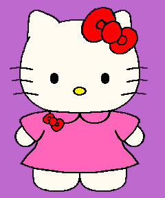 240x288 Clip Art Clip Art Hello Kitty 3 Image