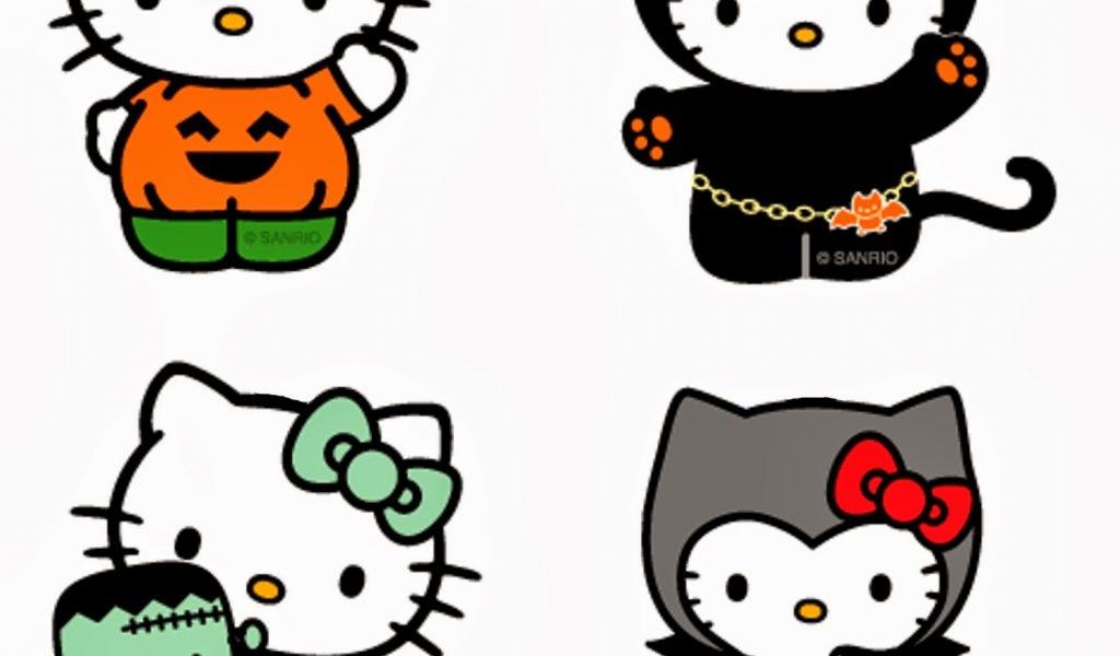 1024x600 Hello Kitty Halloween Clipart 101 Clip Art