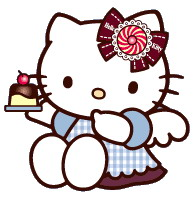 196x202 Collection Of Hello Kitty Clipart Borders High Quality, Free