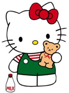 230x309 Teddy Bear Clipart Hello Kitty