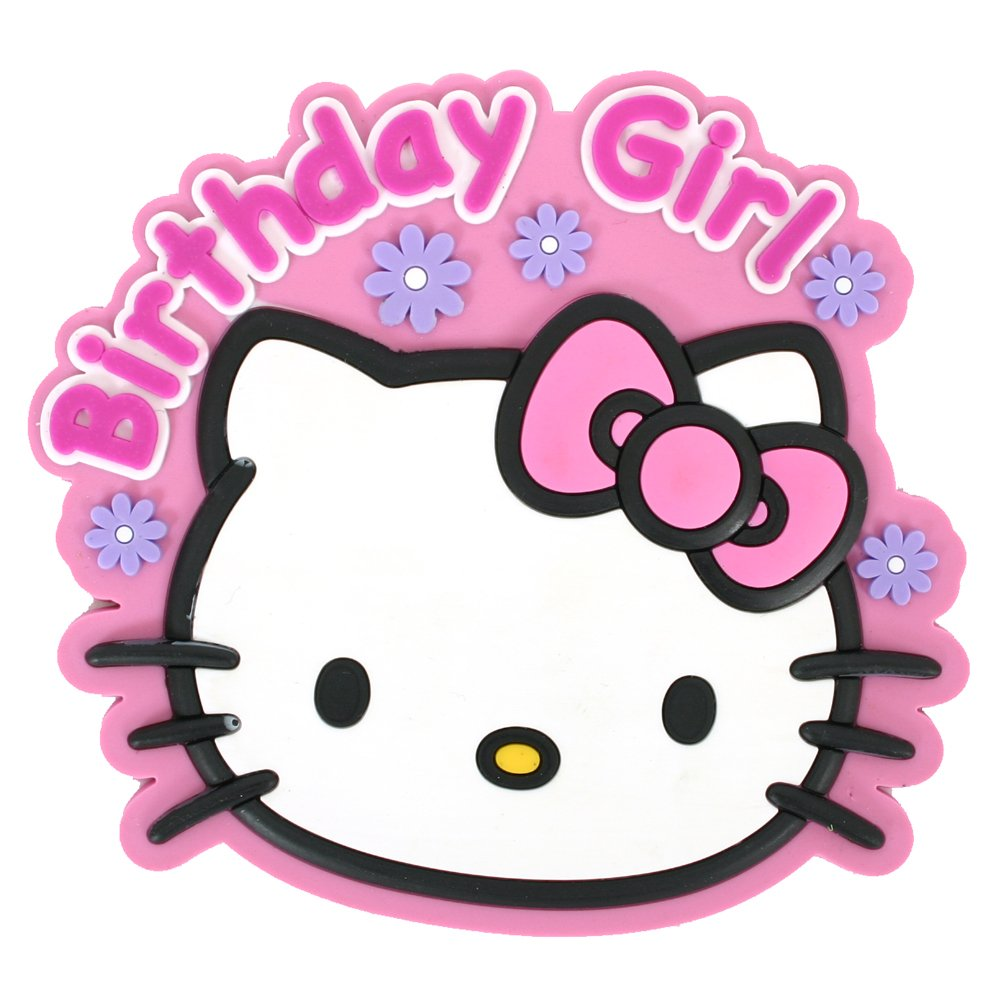 hello kitty happy birthday clipart at getdrawings  free