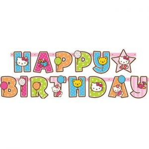 hello kitty happy birthday clipart at getdrawings com free for