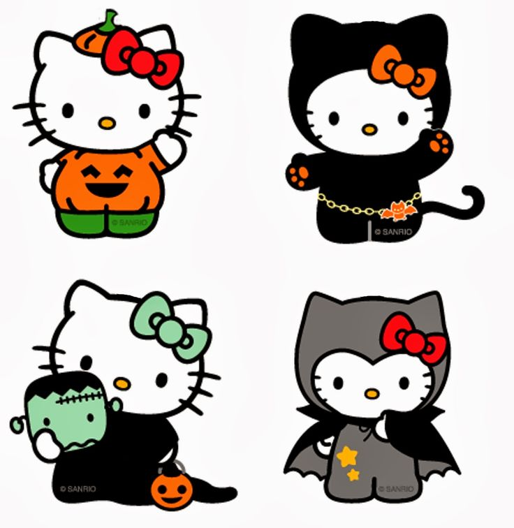 736x756 Collection Of Hello Kitty Halloween Clipart High Quality