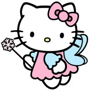 350x353 Fairy Princess Hello Kitty Keeks Fairy Princesses