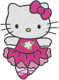 236x320 Hello Kitty (Princess Full Body) Embroidery Design Hello Kitty