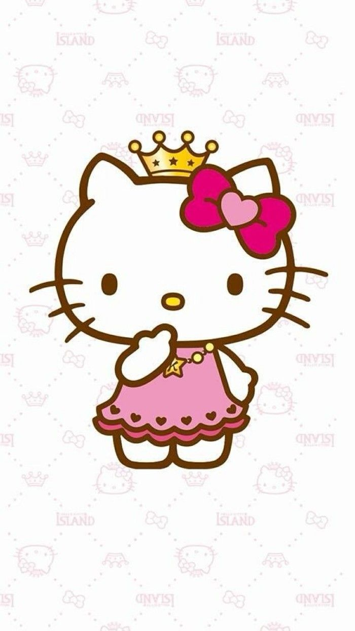 700x1244 Princess Hello Kitty Clipart Hello Kitty, Kitten