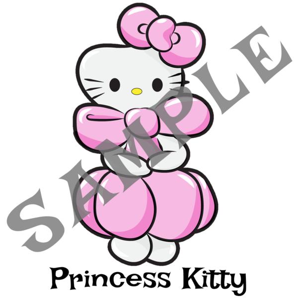 600x600 Princess Kitty Twister Sister Balloon Supplies