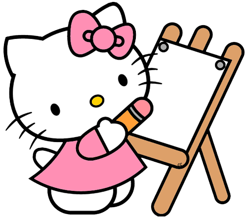 500x444 Collection Of Hello Kitty Clipart High Quality, Free