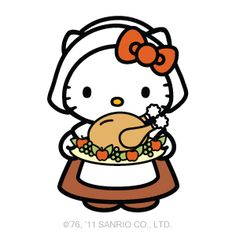 236x236 Collection Of Hello Kitty Thanksgiving Clipart High Quality