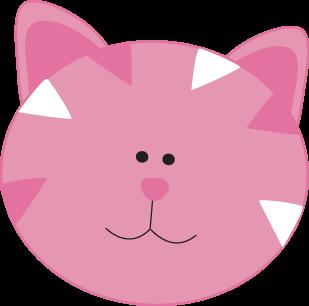 309x306 Kitty Cat Face Clipart