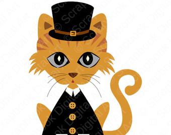 340x270 Thanksgiving Clipart Cat