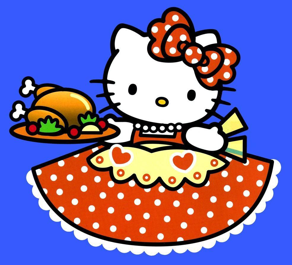 985x892 Hello Kitty Thanksgiving
