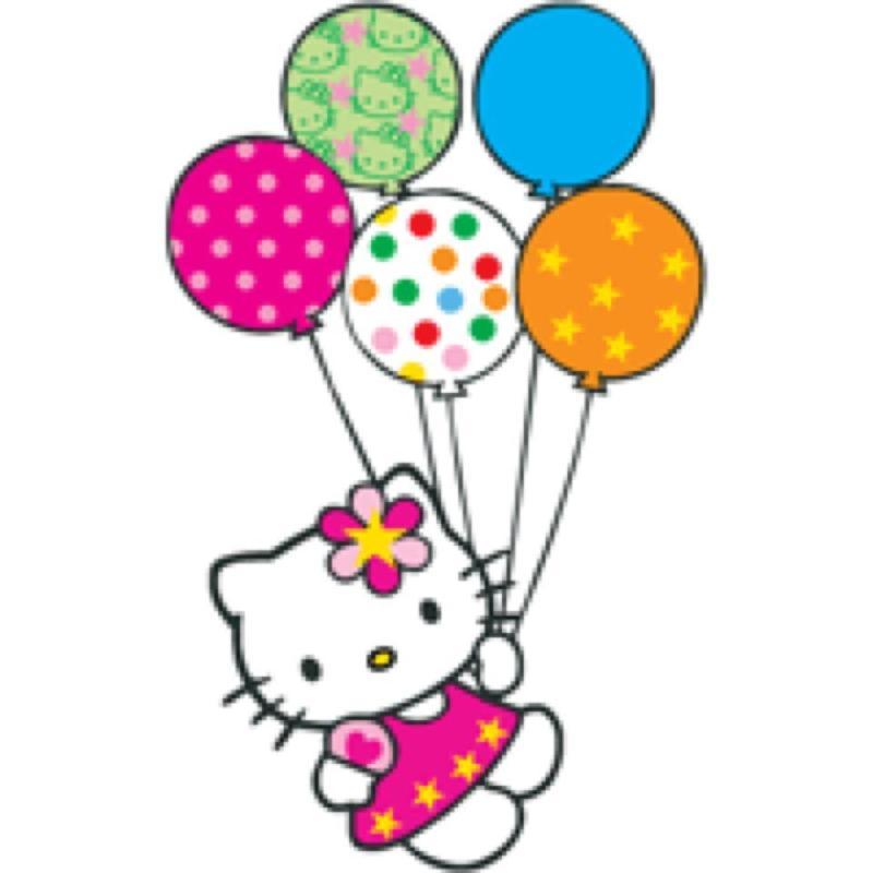 800x800 Balloon Clipart Hello Kitty