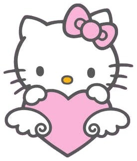 Hello Kitty Valentine Clipart