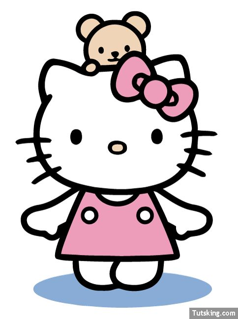 hello kitty valentine clipart at getdrawings com free for personal rh getdrawings com kitten clip art free kitty clip art pictures