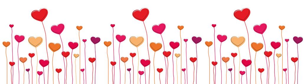 1030x285 Valentines Day Clip Art Banner Heart Clipart Banner 10