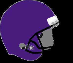 298x258 Purple Football Helmet Clip Art