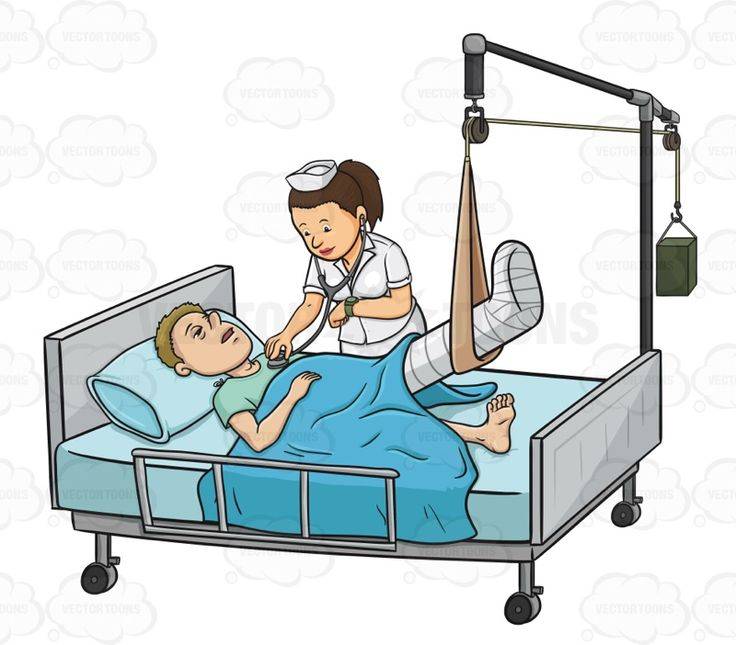 736x645 Patient In Hospital Bed Clip Art