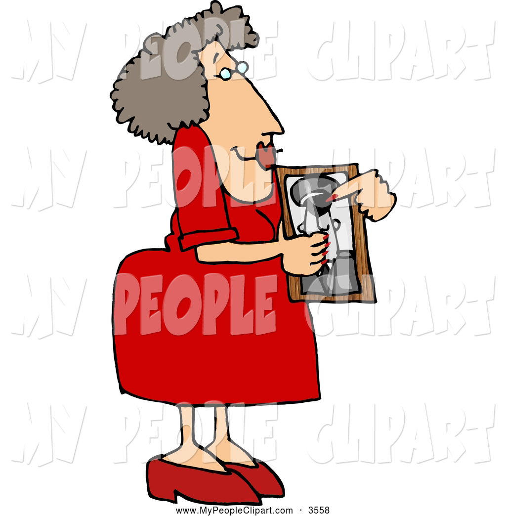 1024x1044 Clip Art Of A Proud Mother Showing A Picture Of Her Son Who