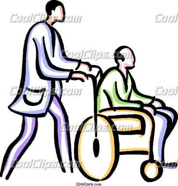 368x383 Free Disabled People Clipart