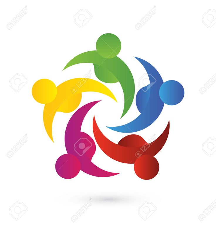 736x774 Best 266 Teamwork People Logo Icon Id Business Card Ideas