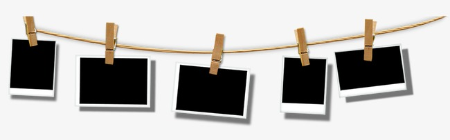 650x203 Polaroid Photo Clip Art, Clip, Photo, Hemp Rope Png And Psd File