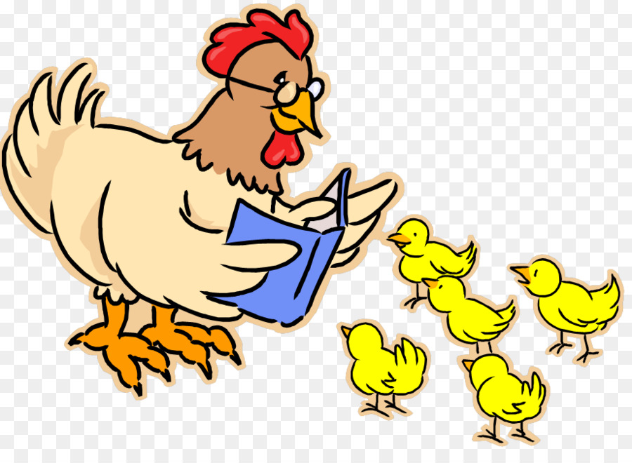 900x660 Chicken Hen And Chicks Clip Art
