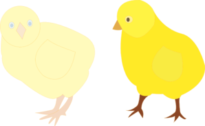 298x183 Hen With Three Chicks Png, Svg Clip Art For Web
