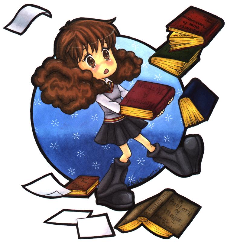 751x800 Chibi Ish Hermione Granger By Crystallinecoley